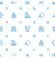 competition icons pattern seamless white vector image vector image