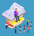 self education training and teaching vector image vector image