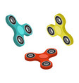 spinner toy isometric vector image vector image