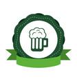 st patricks day beer design vector image
