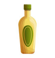 tequila bottle icon cartoon style vector image