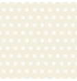 Vintage polka dots set of four seamless patterns vector | Price: 1 Credit (USD $1)