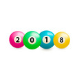 billiard balls photo-realistic vector image