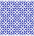 blue and white pattern seamless vector image vector image