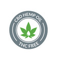 cbd hemp oil logo thc free medical hemp cannabis
