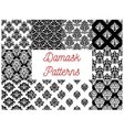 Damask patterns Ornamental decoration vector image