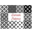 Damask patterns Ornamental decoration vector image vector image
