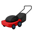 lawnmower vector image vector image