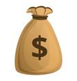 money bag icon cartoon style vector image