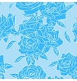 Rose blooms seamless pattern vector image vector image