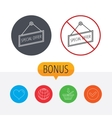 Special offer icon Advertising banner tag sign vector image