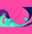 abstract colorful banner backgrounds vector image vector image