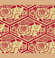 chinese traditional oriental ornament background vector image vector image