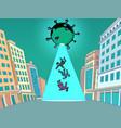 coronavirus epidemic as an alien invasion