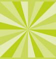 green sunburst spring art texture design vector image vector image