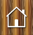 House concept wood background vector image vector image