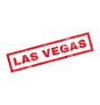 Las Vegas Rubber Stamp vector image