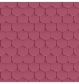 Shingles roof seamless pattern vector image vector image