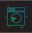 web layouts icon design vector image