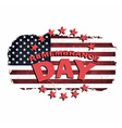 us remembrance day vector image