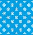 asian salad pattern seamless blue vector image vector image