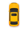 car top view icon vehicle vector image vector image
