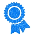 Certification Grainy Texture Icon vector image vector image