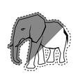 elephant african animal vector image vector image