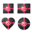 Gift box set collection black and pink