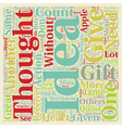 Gifts With No Thought Are Worthless text vector image vector image