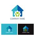 house renovation logo vector image vector image