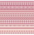 Seamless texture Geometric seamless vector image vector image