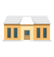small smart home icon flat style vector image vector image