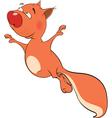 The squirrel cartoon vector image