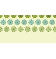 abstract green polka dot stripes horizontal vector image vector image