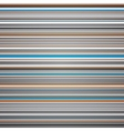 Abstract striped blue grey and orange background vector image vector image