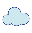 cloud natural design and nice weather vector image vector image