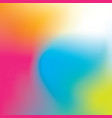 colorful rainbow gradient vector image