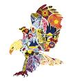 eagle miniatures symbolizing America vector image vector image