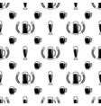 seamless beer pattern vector image