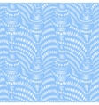 Seamless pattern with hand-drawn waves and lines vector image vector image