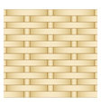 straw weaving as seamless background vector image