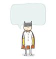 Superhero vector image