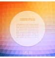 Abstract Background With Orange And Blue vector image