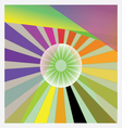 Abstract sun vector image