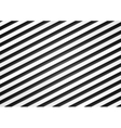Black and white stripes pattern design vector image vector image