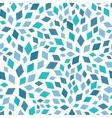 blue mosaic texture seamless pattern vector image