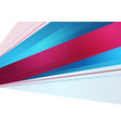 bright blue purple stripes abstract corporate vector image vector image