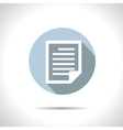 document icon Eps10 vector image vector image
