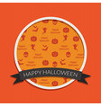 halloween decoration vector image vector image
